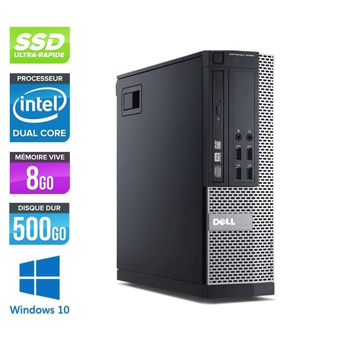 Dell Optiplex 7020 SFF - Intel pentium - 8go - 500Go - ssd - windows 10