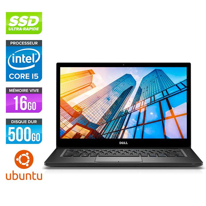 Pc portable reconditionné - Dell 7490 - Core i5 - 16 Go - 500Go SSD - Linux