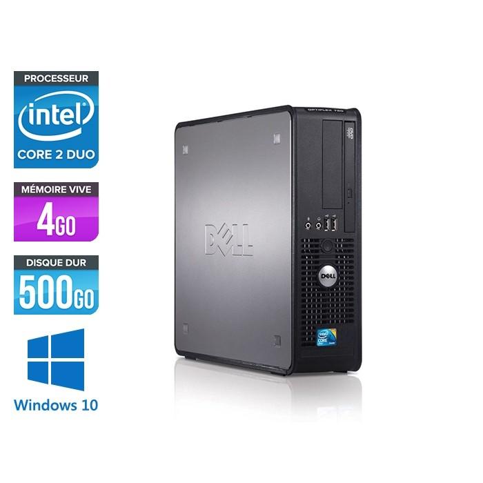 Dell Optiplex 780 SFF - E5300 - 4Go - 500Go - Windows 10