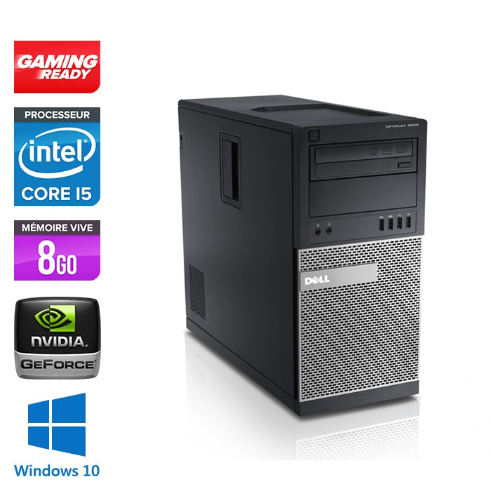 pc gamer occasion dell optiplex 790 tour i5 8go 120go ssd gt730 windows 10 trade. Black Bedroom Furniture Sets. Home Design Ideas