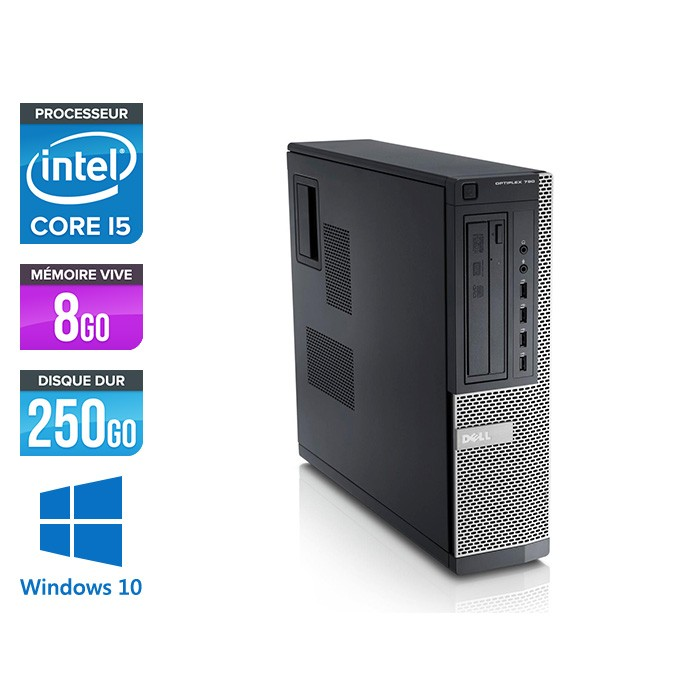 Dell Optiplex 790 Desktop - i5 - 8Go - Windows 10