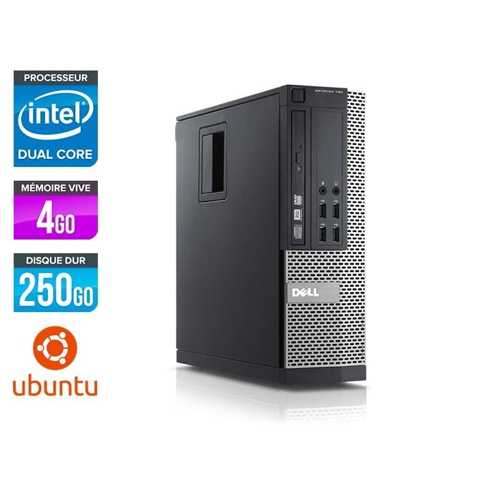 Dell Optiplex 790 SFF - intel G630 - 4Go - 250 Go - Linux