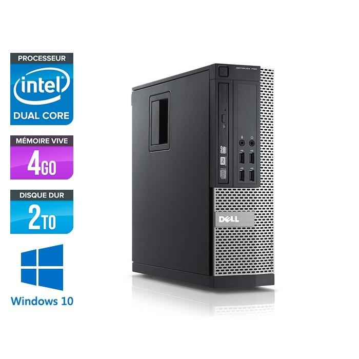 Dell Optiplex 790 SFF - intel G630 - 4Go - 2TGo - Windows 10