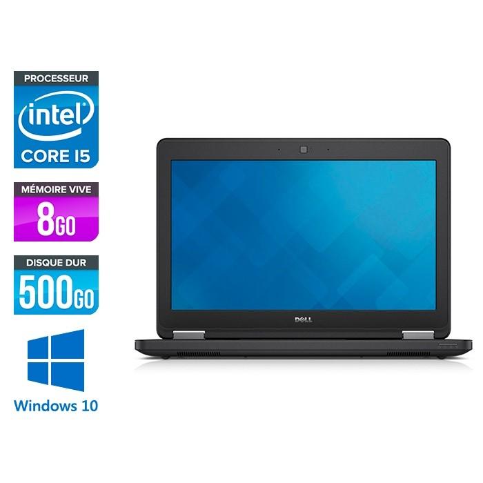 Dell Latitude E5250 - i5 - 8Go - 500Go HDD - Windows 10 Famille