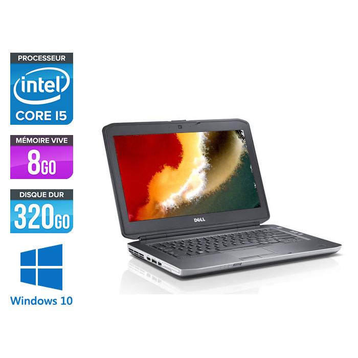 Pc portable - Dell Latitude E5430 reconditionné  - Core i5 - 8Go - 320 Go HDD - Windows 10