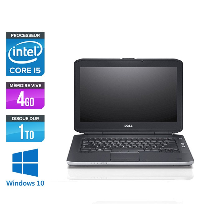 ordinateur portable occasion dell latitude e5430 i5 4go 1 to windows 10 trade discount. Black Bedroom Furniture Sets. Home Design Ideas