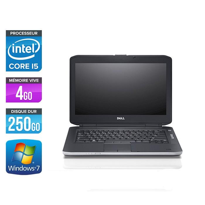 Dell Latitude E5430 - i5 - 4Go - 250Go HDD - Windows 7