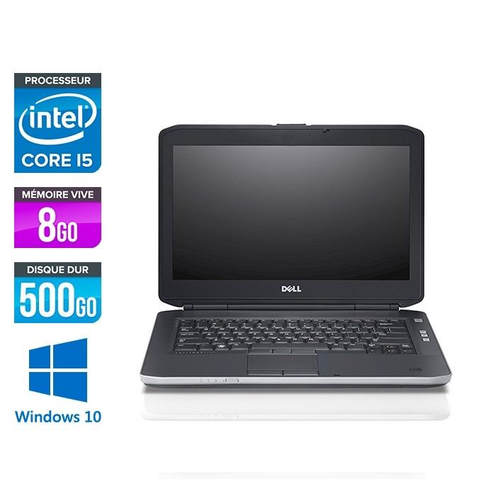 Dell Latitude E5430 - i5 - 8Go - 500Go - Windows 10