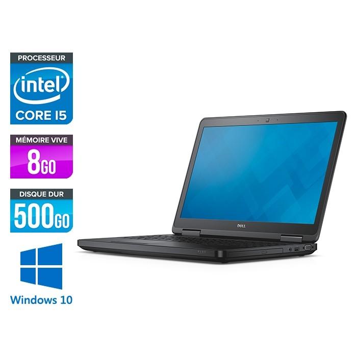 Dell Latitude E5540 - i5 - 8Go - 500Go HDD - Windows 10