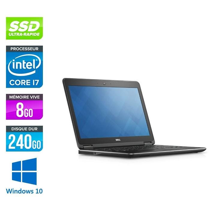 Dell Latitude E7250 - i7 - 8Go - 240Go SSD - Windows 10
