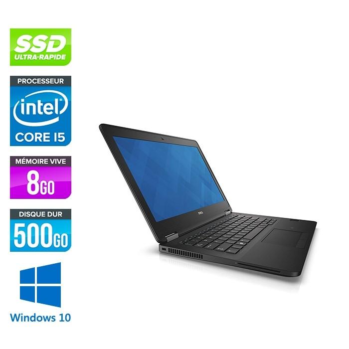 Dell Latitude E7270 - i5 - 8Go - 500Go SSD - Windows 10