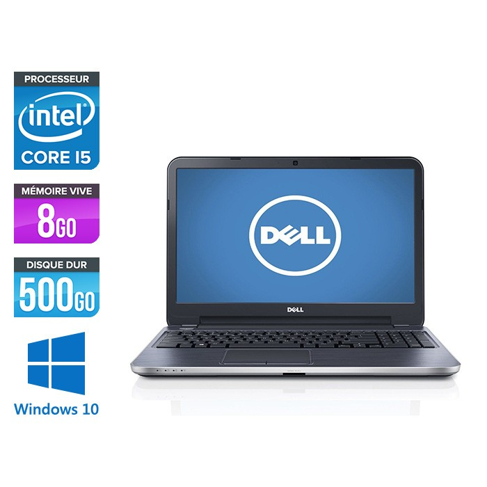 Dell 3540 - i5 - 8Go - 500Go HDD - 15,6'' - W10