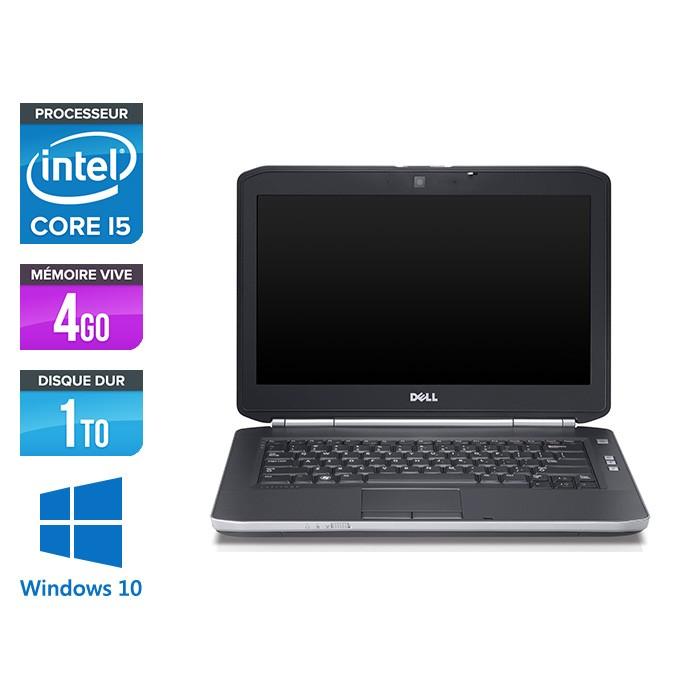 Dell Latitude E5420 - i5 - 4Go - 1To HDD - Windows 10