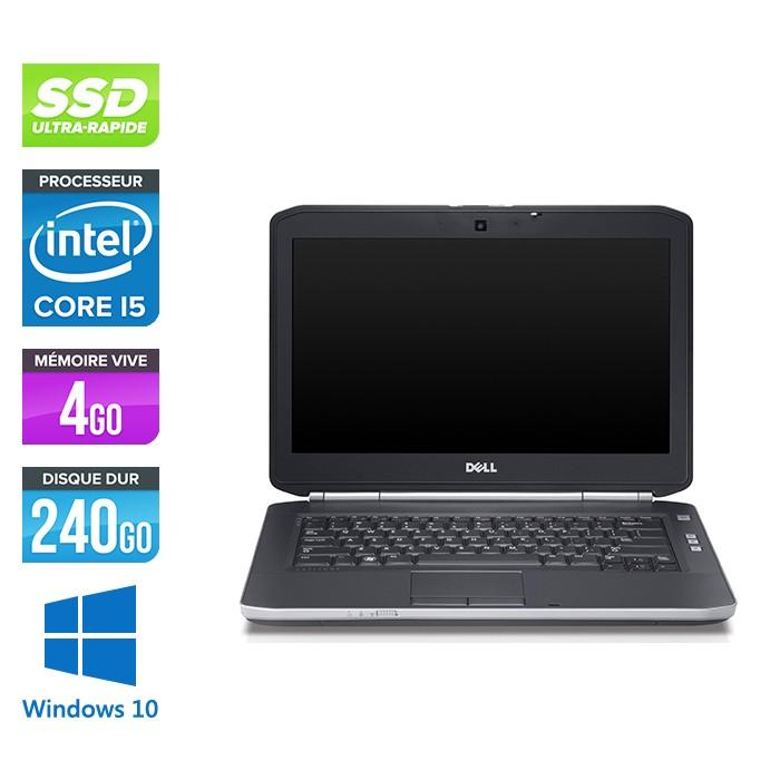Dell Latitude E5420 - i5 - 4Go - SSD 240Go - Windows 10