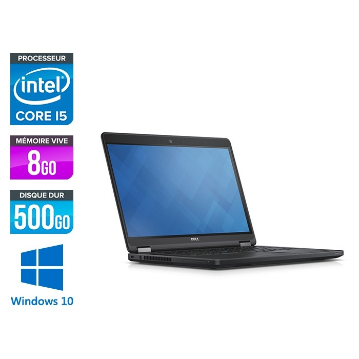 Dell Latitude E5450 - i5 - 8Go - 500Go HDD - Windows 10 home