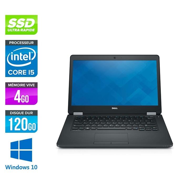 Dell Latitude E5470 - i5 6300U - 4Go DDR4 - 120 Go SSD - Windows 10-2
