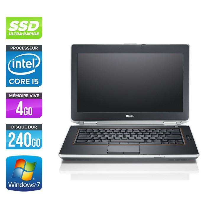 Dell Latitude E6420 - Core i5 - 4Go - 240Go SSD - Windows -7
