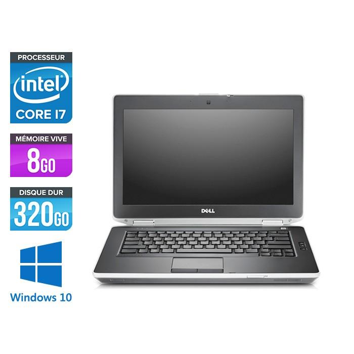 Dell Latitude E6430 - i7 - 8Go - 320Go HDD - Windows 10