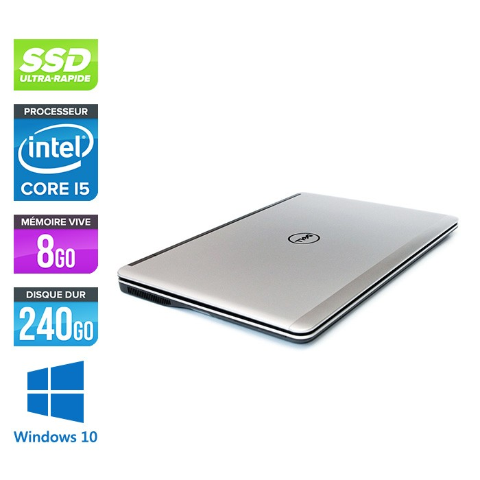 Dell E7440 - Full-HD - Core i5 - 8 Go - 240Go SSD - Windows 10