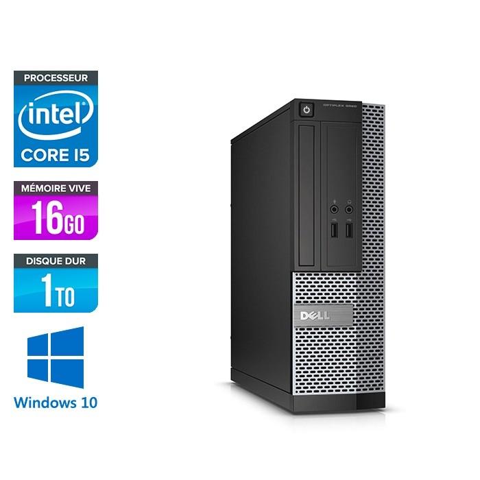 Dell Optiplex 3020 SFF - i5 - 16Go - 1To  - W10