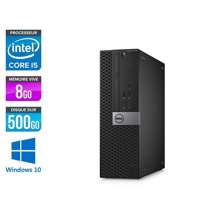 Dell Optiplex 7040 SFF - i5 - 8Go - 500Go - Win 10