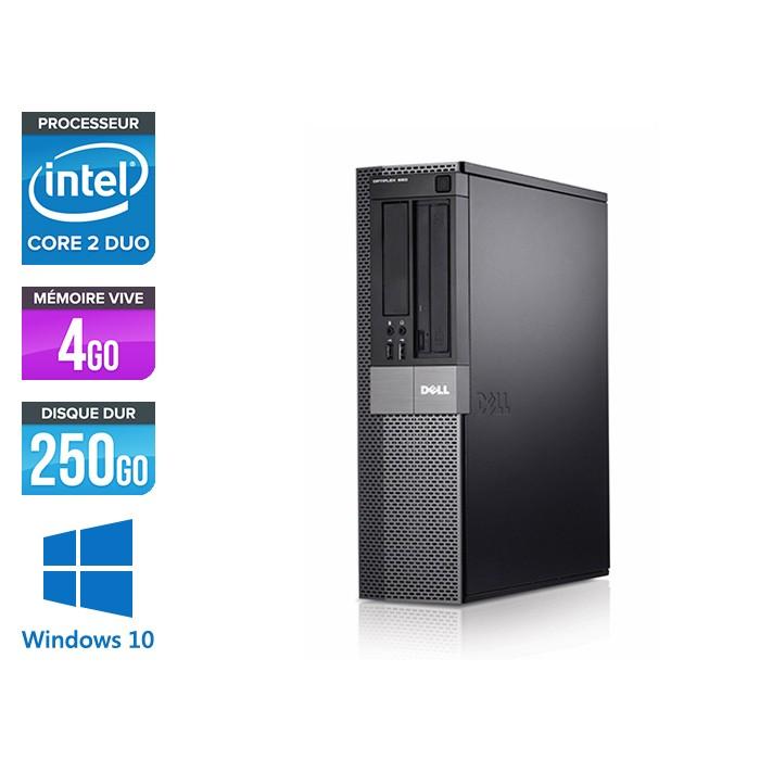 Dell Optiplex 960 SFF - E8400 - 4Go - 250Go - Windows 10