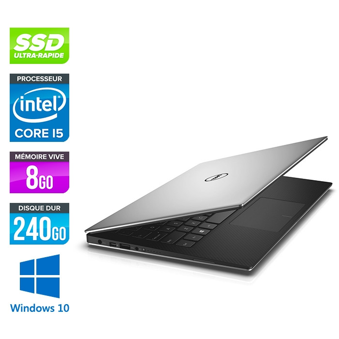 Dell XPS 13 9360 - intel i5-7200U - 8 Go - 240Go SSD - Windows 10