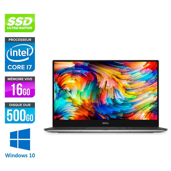Dell XPS 13 - intel i7 - 16Go - 500Go SSD - Windows 10
