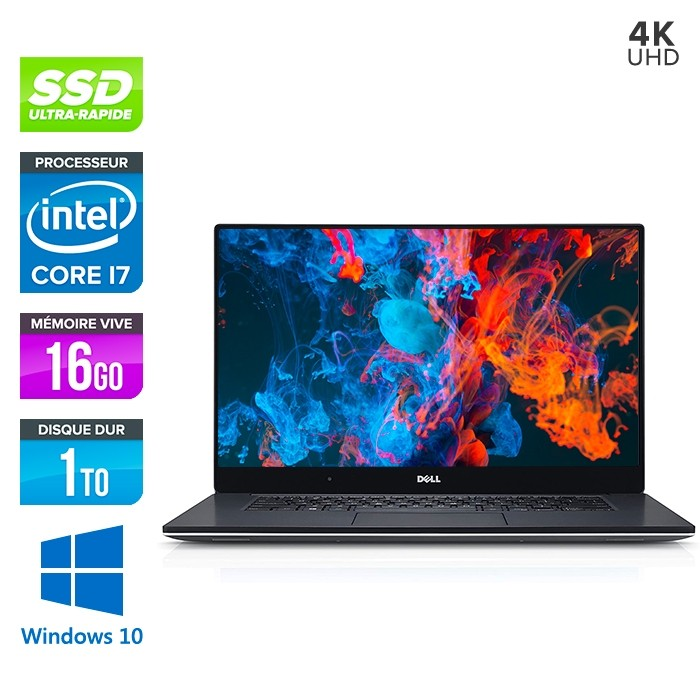 Dell XPS 15 - i7 - 16Go - 1To SSD - GTX 960M - Windows 10