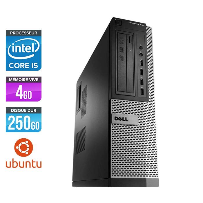 Dell Optiplex 790 Desktop - Core i5 - 4Go - 250Go - Ubuntu - Linux