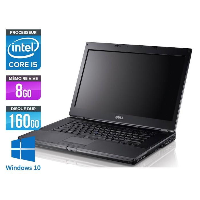 Dell Latitude E6410 - Core i5 520M - 8Go - 160Go - Windows 10