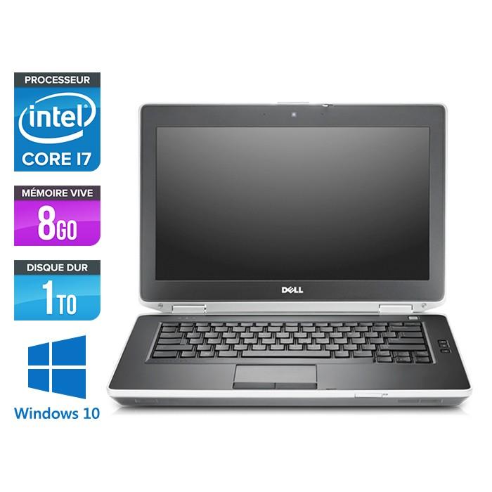 Dell Latitude E6430 - i7 - 8Go - 1To HDD - Windows 10