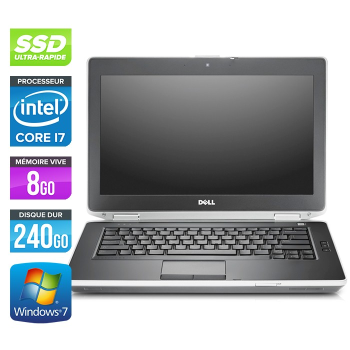 Dell Latitude E6430 - Core i7 - 8Go - 240Go SSD