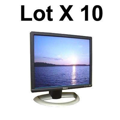 """Lot de 10 écrans plats TFT 17"""""""