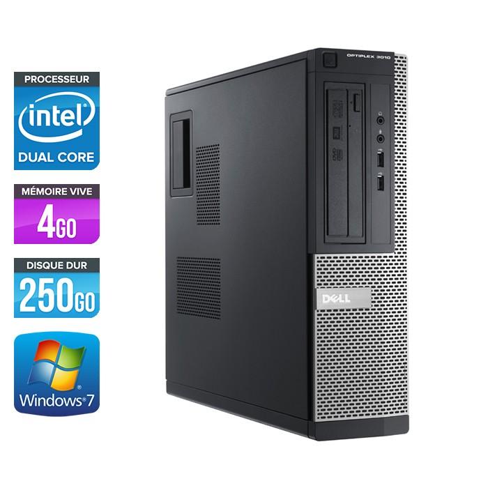Dell Optiplex 3010 SFF - Pentium G870 - 4Go - 250Go