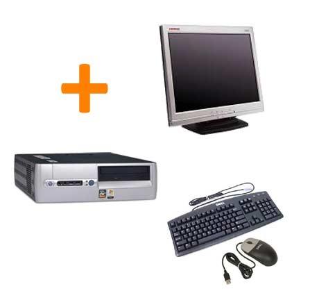 HP DX5150 + Ecran TFT 15 pouces