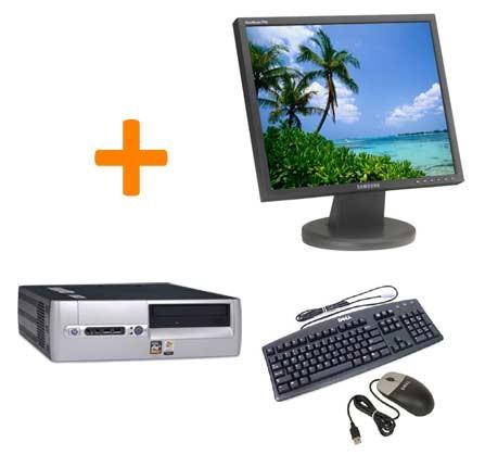 HP DX5150 + Ecran TFT 17 pouces