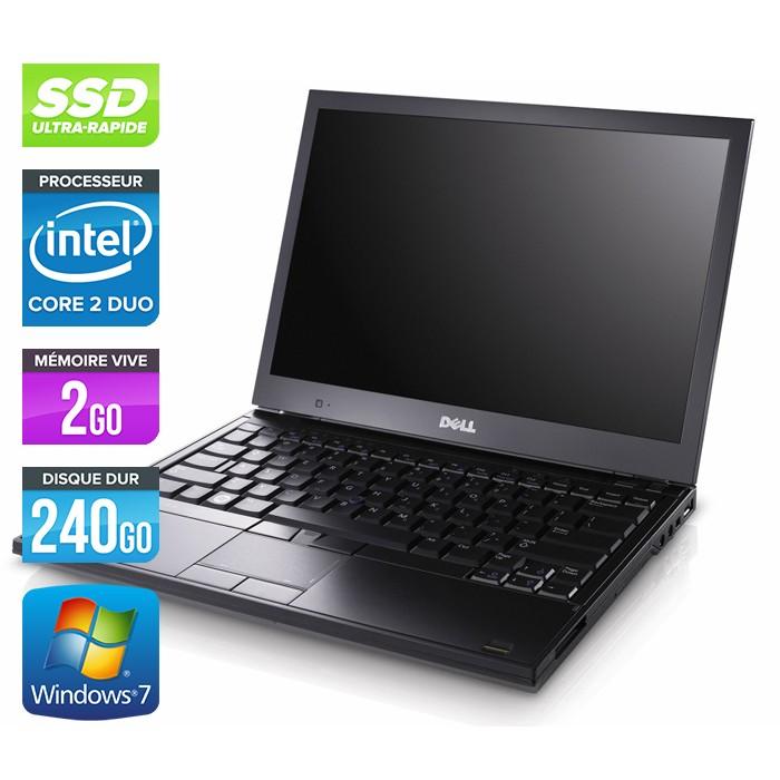 Dell Latitude E4300 - Core 2 Duo - 2Go - 240Go SSD - W7