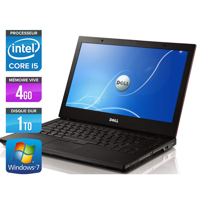 Dell Latitude E4310 - Core i5 520M - 4Go - 1To