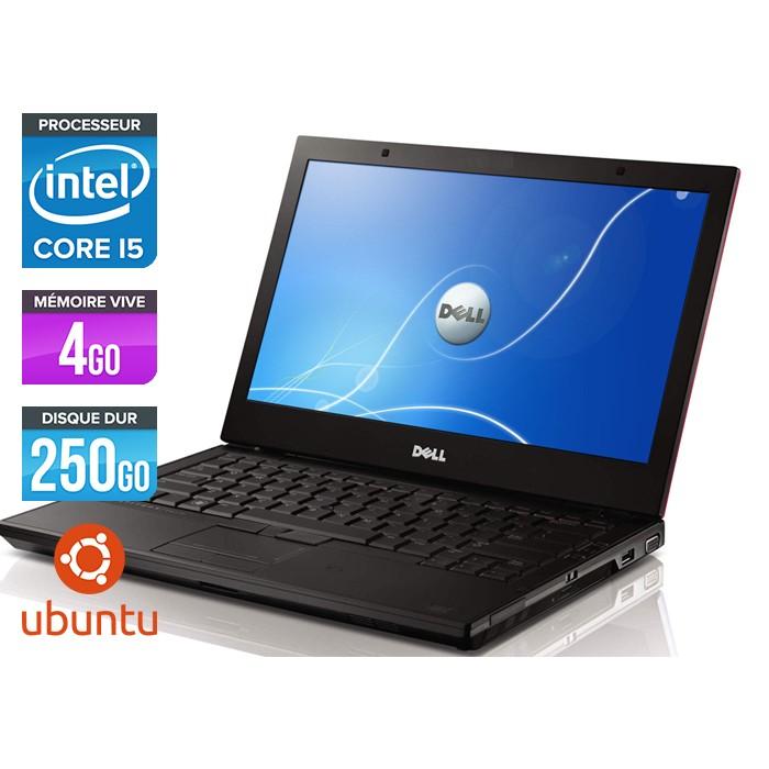 Dell Latitude E4310 - Core i5 520M - 4Go - 250Go - Linux