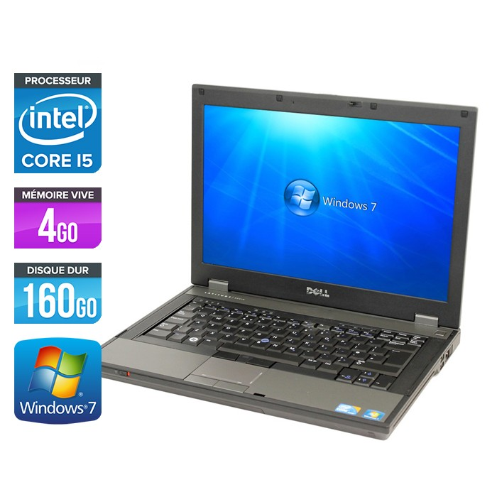 DELL LATITUDE E5410 - Core i5 - 4Go - 160Go