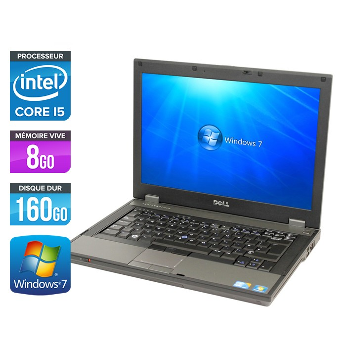 DELL LATITUDE E5410 - Core i5 - 8Go - 160Go
