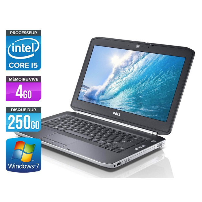 Dell Latitude E5420 - Core i5 - 4Go - 250Go