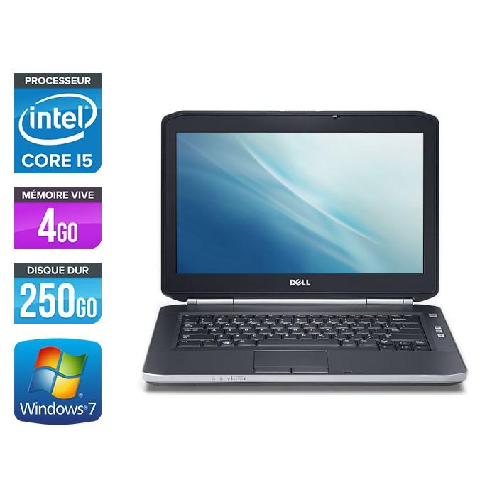 Dell Latitude E5420 Pc Portable Occasion Windows 7 Professionnel