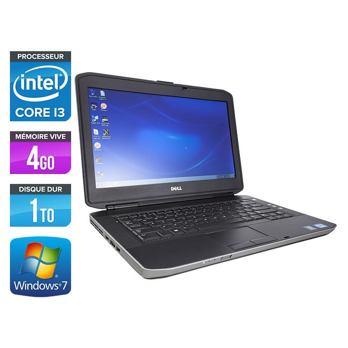 Dell Latitude E5430 - Core i3-3110M - 4Go - 1To