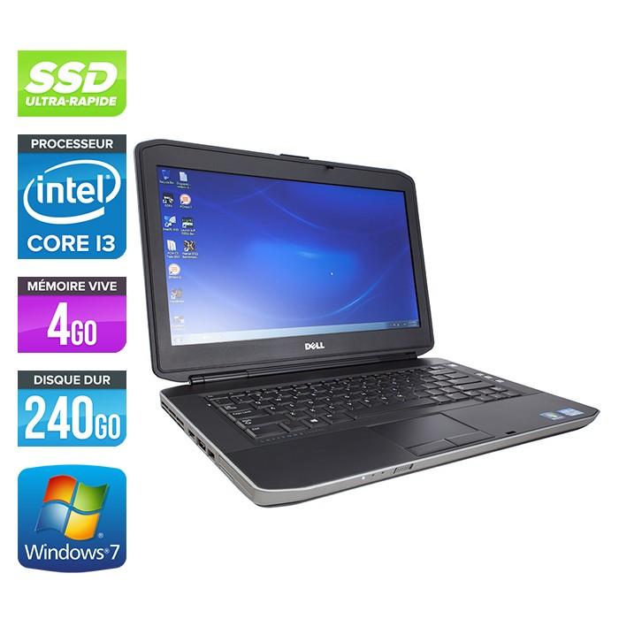 Dell Latitude E5430 - Core i3-3110M - 4Go - 240Go SSD