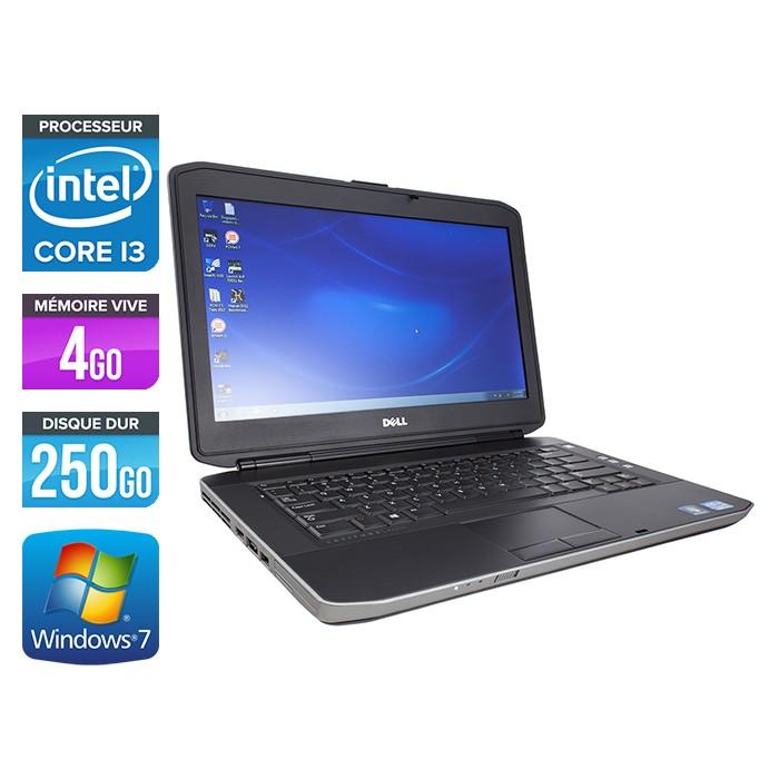 Dell Latitude E5430 - Core i3-3110M - 4Go - 250Go