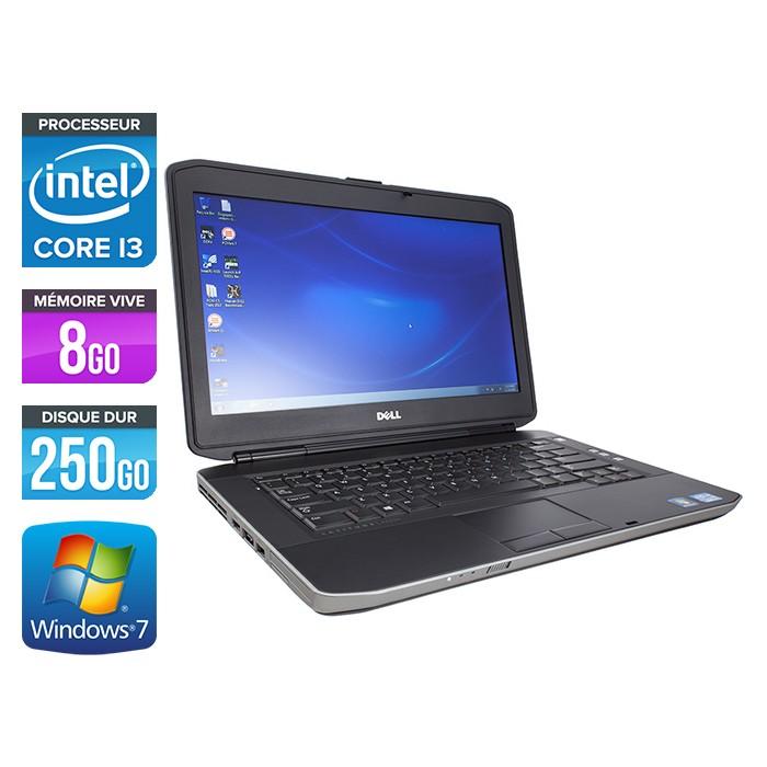 Dell Latitude E5430 - Core i3-3110M - 8Go - 250Go