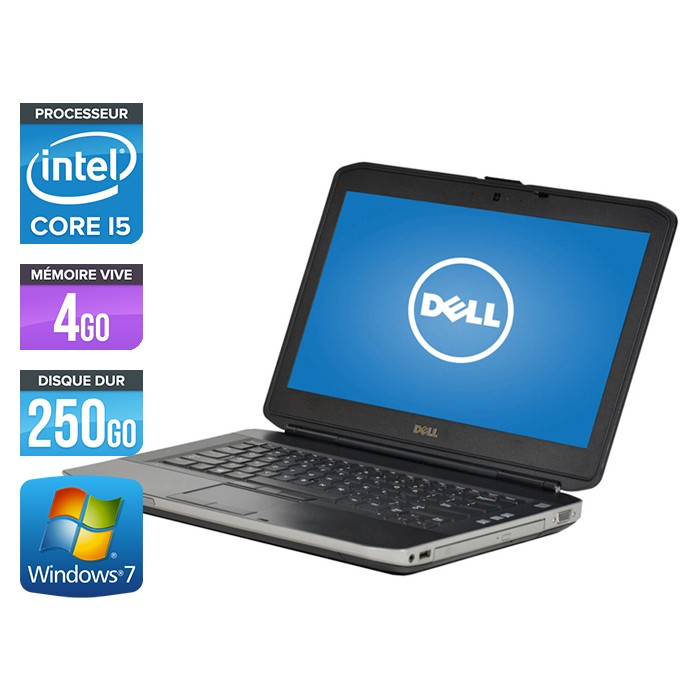 Dell Latitude E5430 - Core i5 - 4Go - 250Go
