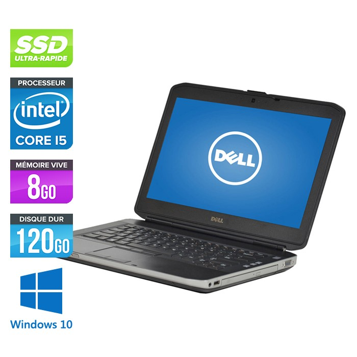 Dell Latitude E5430 - Core i5 - 8Go - 120 Go SSD - Windows 10